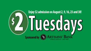 Two Dollar Tuesday event header